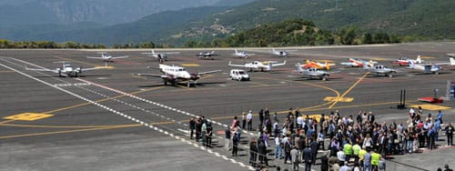 Authorities reached an agreement on the operation of the airport in the   Pyrenees in 2014