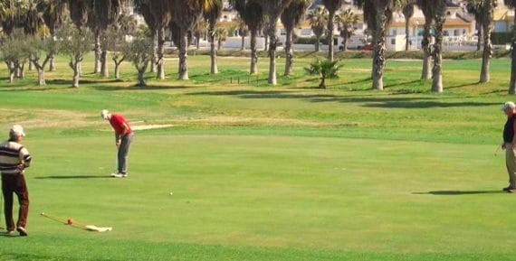 The best golf courses are located in Spain