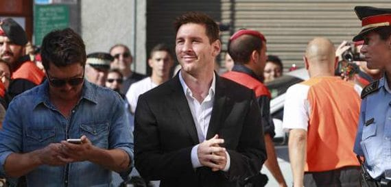 Messi is innocent!