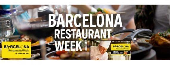 """Restaurant Week "" in Barcelona"