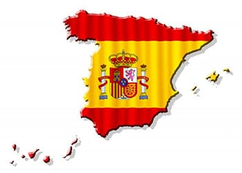 Exports from Spain is growing