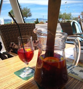 Sangria , made in Spain
