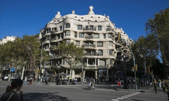 "Restoration of house ""La Pedrera"" in Barcelona"
