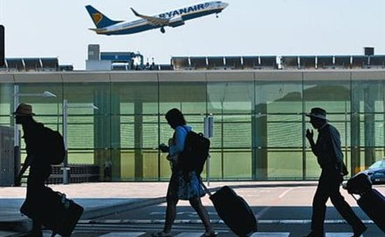 The international airport of Barcelona already broke the record