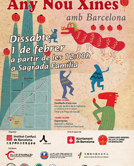 Celebrating Chinese New Year in Barcelona