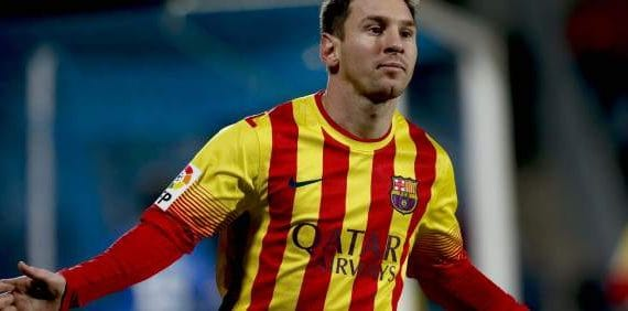 Messi hopes to reach the final of the Champions League 2013-2014