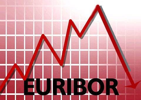 Euribor index declines in February 2014