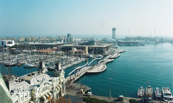 Port of Barcelona does not reduce the rate of work