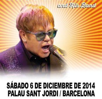 Elton John's concert in Barcelona