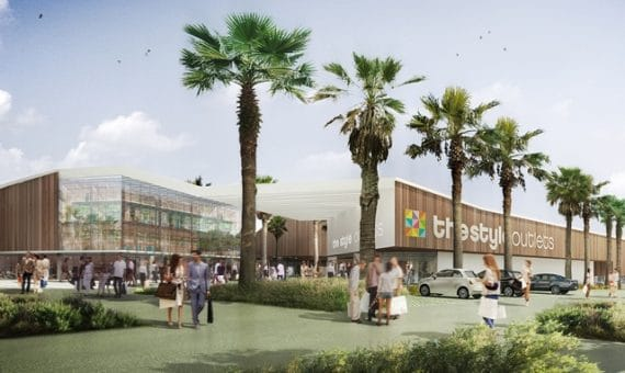 New shopping center in Viladecans