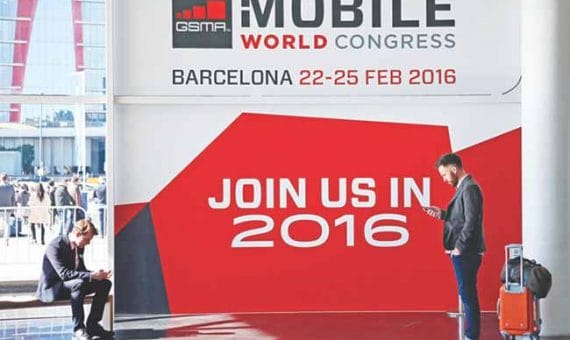 Mobile World Congress 2016 in Barcelona