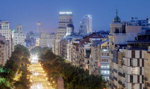 Rent of real estate in Barcelona is more popular
