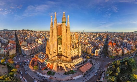 The growth of sales of real estate in Barcelona