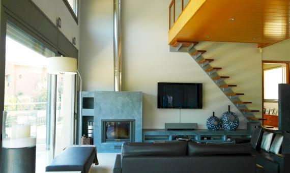 Modern villa on the plot of 2000 m2 on sale in the prestigious area of Sant Andreu de Llavaneres | 7358-8-570x340-jpg