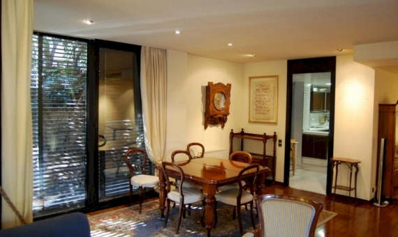 Luxury flat of 230 m2 with private garden of 230 m2 in Sarria | 2-lusa-flat-sarria-3-420x280-1-jpg
