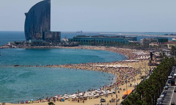 Record number of tourists in Spain