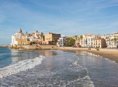 Costa del Garraf in Spain