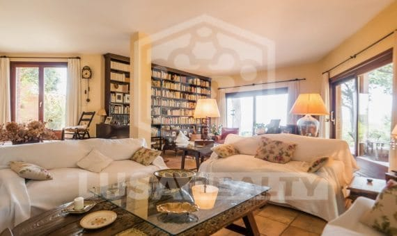 New house in a rustic style, on a plot of 50 hectares in San Pol de Mar | casa-san-pol-de-mar00005-570x340-jpg