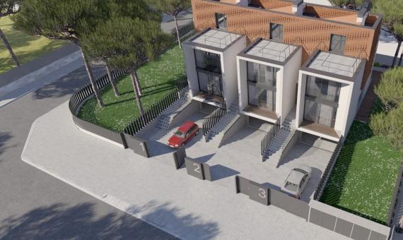 Newly built houses near the sea in Gava Mar | 2-1-570x340-jpg