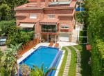 Townhouse of 500 m2 with a private pool in the prestigious urbanization of Can Roca | image-2-2-150x110-jpg