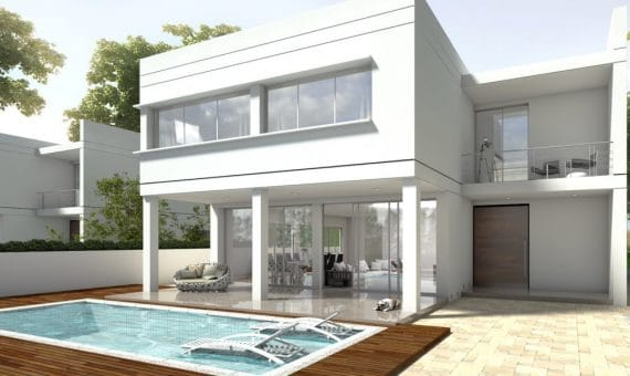 New construction homes close to the sea in Casteldefells | 00006exterior-570x340-jpg