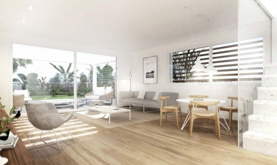 New townhouses of  266 m2 on sale in Gava Mar the nearest suburb of Barcelona   2