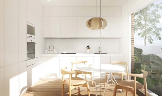 New townhouses of  266 m2 on sale in Gava Mar the nearest suburb of Barcelona   3