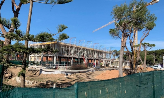 New townhouses of  266 m2 on sale in Gava Mar the nearest suburb of Barcelona   1