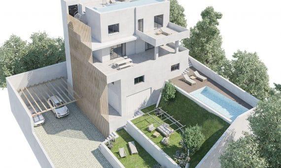 Exclusive luxury villa with stunning sea views in Esplugues de Llobregat, Barcelona   1