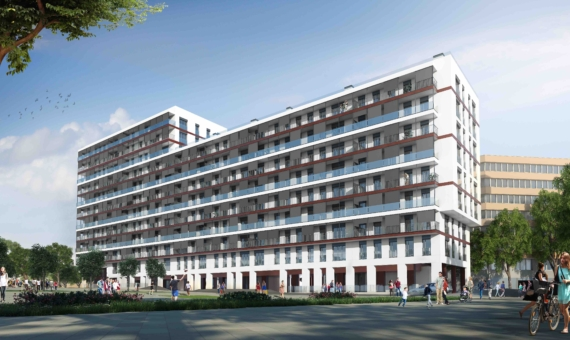 New flats close to the sea in Poblenou area of Barcelona   1